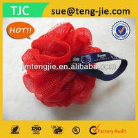 Wholesale Custom Designed Bath Massage Sponge Exfoliating Shower Puff