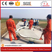 Road surface marking line shot blasting machine / sand blaster