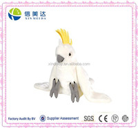 White cockatoo cheap china plush toy