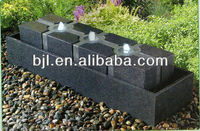 stone fountain outdoor water feature yard fountains