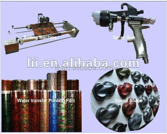 camo water transfer printing film, hydrographics film, aquaprint film, pva film, from China No. LC066B