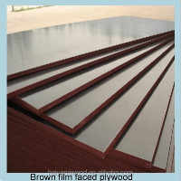 black/brown film faced plywood 12,15,18mm poplar core from Linyi City China