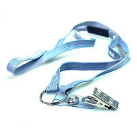 cheapest Advertising Nylon polyester Lanyard with breakaway dog clip