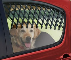 Adjustable Pet Dog Cat Gate for Car Truck Auto Window NIP