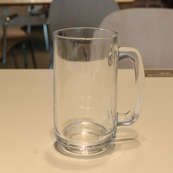 Low price 14 oz flint custom glass of beer