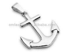 Fashion New Design Promotional Lovely Arrow Cross Pendant Stainless Steel Necklace