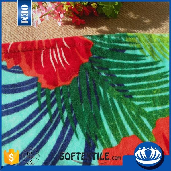 Chian manufacturer hygroscopic custom print beach towels uk