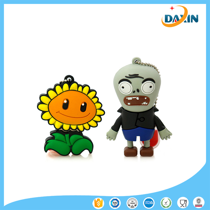 cartoon Plant VS Zombies 4G 8G 16G 32G sunflower USB2 usb flash drive