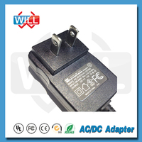 USA standard AC 24v power adapter with CE UL certifications
