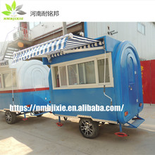 fully enclosed China Made Food Trailers, Coffee Cart Design, Cheap Hot dog Cart