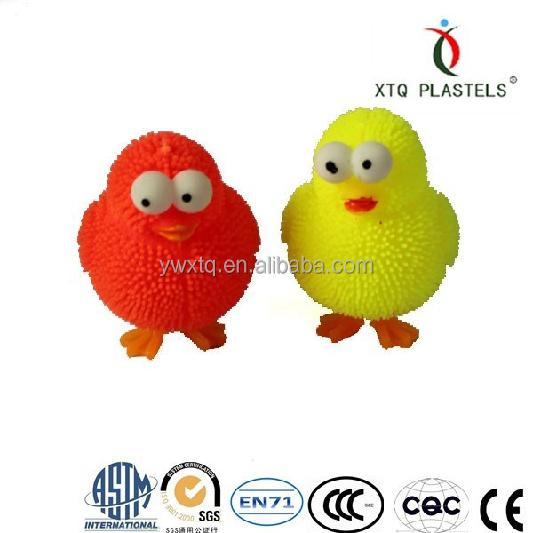 small size new design of Cute chicks ,inflatable animal toy