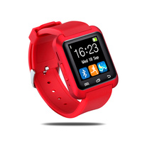 u80 cell phone watch with touch display smart watch phone with pedometer 2015