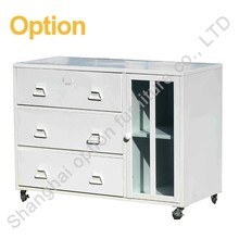 Superior 3 drawer mobile metal storage pedestal cabinet