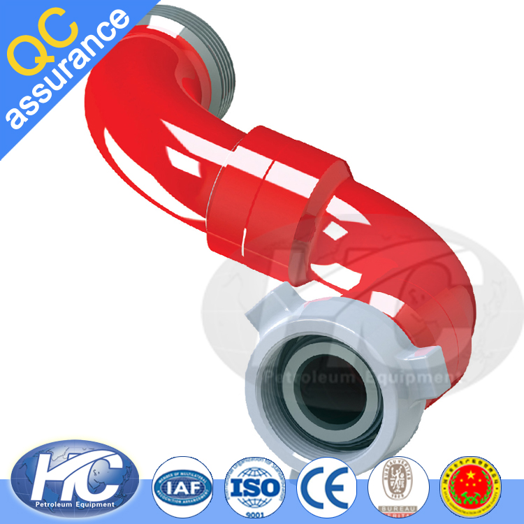 High pressure active elbow / water rotating connector / swivel joints for machanical parts