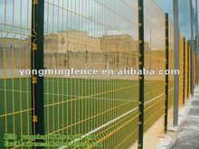 high durability and visibility/current wire mesh fence for boundary wall(direct factory)