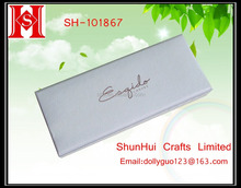 Popular white snake texture paper gift box with magnet customized gift magnetic box