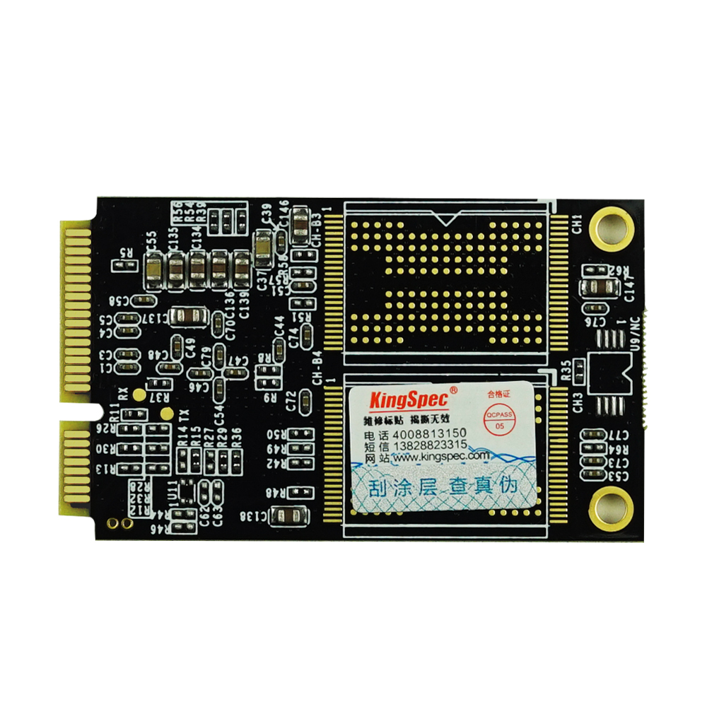 KingSpec msata ssd 128gb solid state hard drive industrial ssd for motherboard