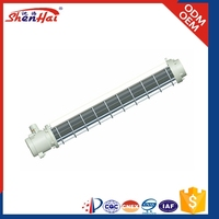 metal shell T5 / T8 Tube Explosion proof fluorescent light fixture