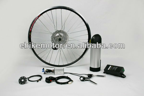 MXUS 350w electric bicycle hub motor kit with battery