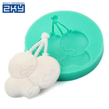 DIY 3D Balloon Mold Fondant Chocolate Cake Decorating Mold Silicone Baking Molds