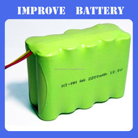 12v 2200mah nimh battery packs