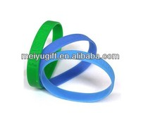 wristband made in china luminous silicone bracelet for promotions