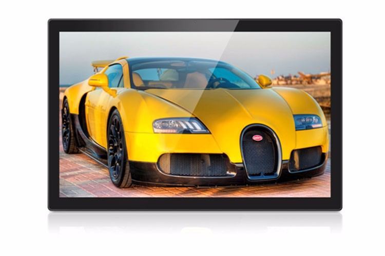 Network 27 inch TFT LCD android wifi Advertising Display Monitors with usb hd input .jpg