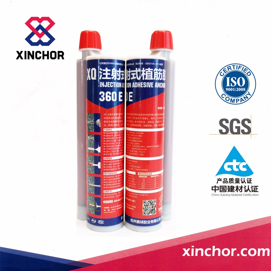 Xinchor XQ-360E injection planting-bar glue / injection adhesive