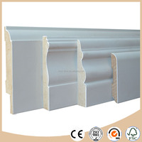 Decorative Wood / MDF skirting board / baseboard mouldings