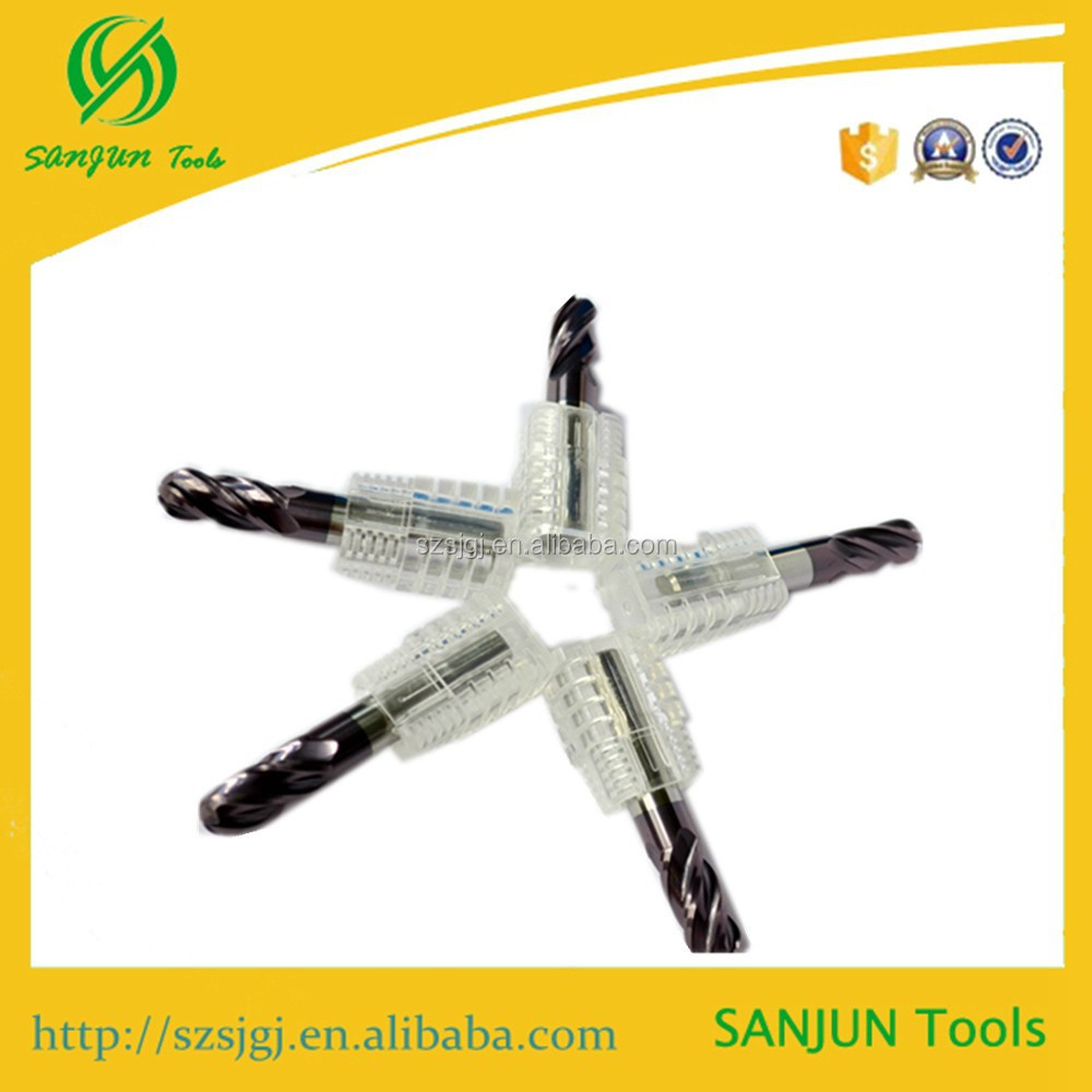 tungsten carbide milling cutters Carbid Spherical Cutter,Toroidal Milling Cutter