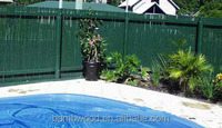 black cheap roll bamboo fence