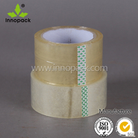 Factory Price Bopp Single Sided Transparent Packaging Adhesive Tape