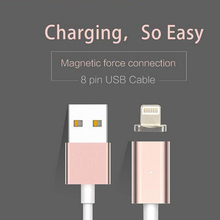 2017 new products 2.4A strong magnet fast speed magnetic micro usb otg 3.0 cable for iphone data