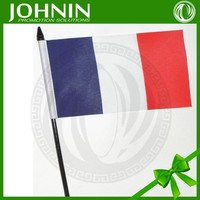 small size directly factory best quality fashional hot sale france hand mini flag