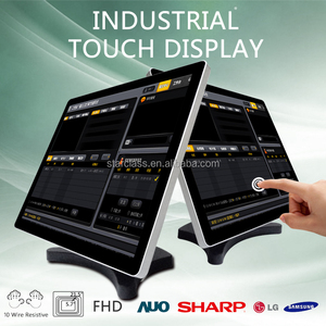 led UHD 4k touch screen monitor china lcd tv price interactive flat panel