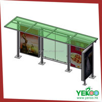 Outdoor advertising innovative advertising product--bus shelter