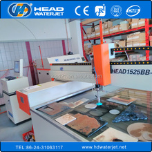 Best selling high accuracy 1500mm*2500mm granite,stone CNC waterjet cutting machine