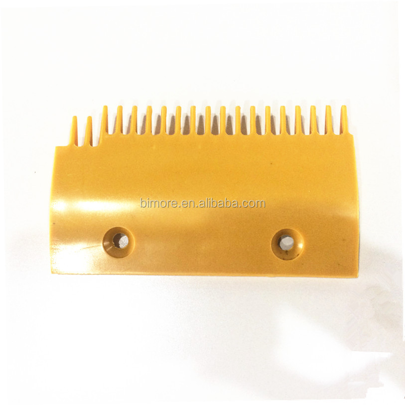 DSA2000168-<strong>L</strong> Sigma Escalator Comb 163*94 19T Left Yellow Plastic
