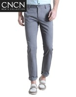 natural cotton man business casual pant