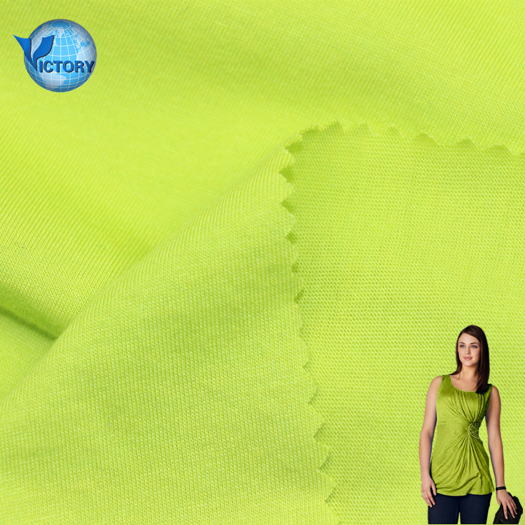 50% Modal 50% Cotton dyed Single Jersey Fabric Online Shop China