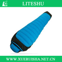 2014 new mummy sleeping bag for cold weather outdoor camping
