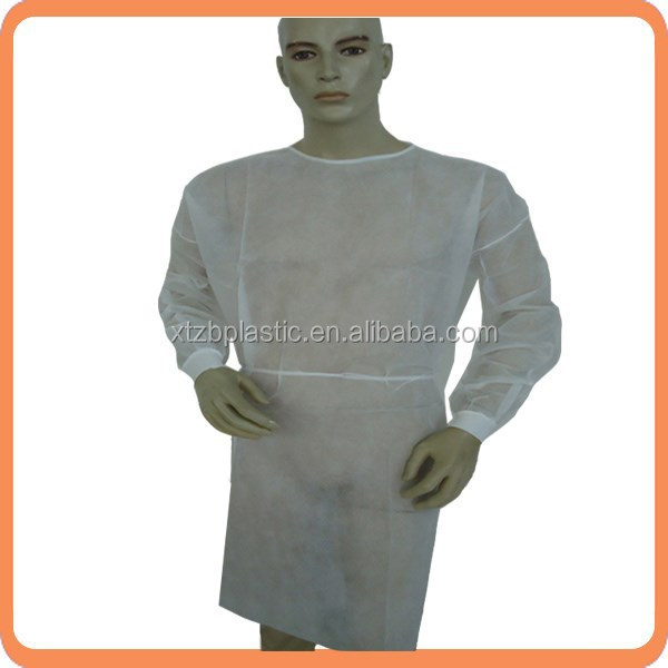 Disposable sterile sms non woven supply type surgical gowns/safety garment/medical suits