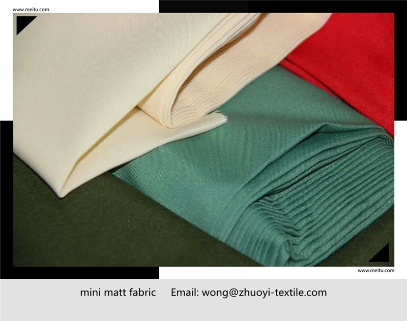 Europe sell to microfiber mini matt fabric used for clothes tablecloth