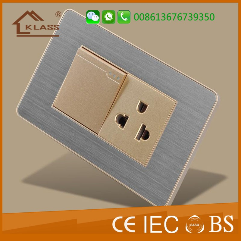 Latest Designer Color Electrical Sockets And Switches Hotel Room ...