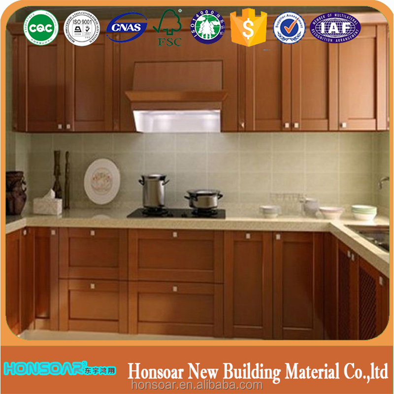 Kitchen cabinets top decorating idea with soft closing