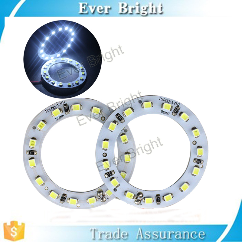 Most demanded products 2835 SMD LED Angel Eye Halo Ring white blue ccfl angel eye