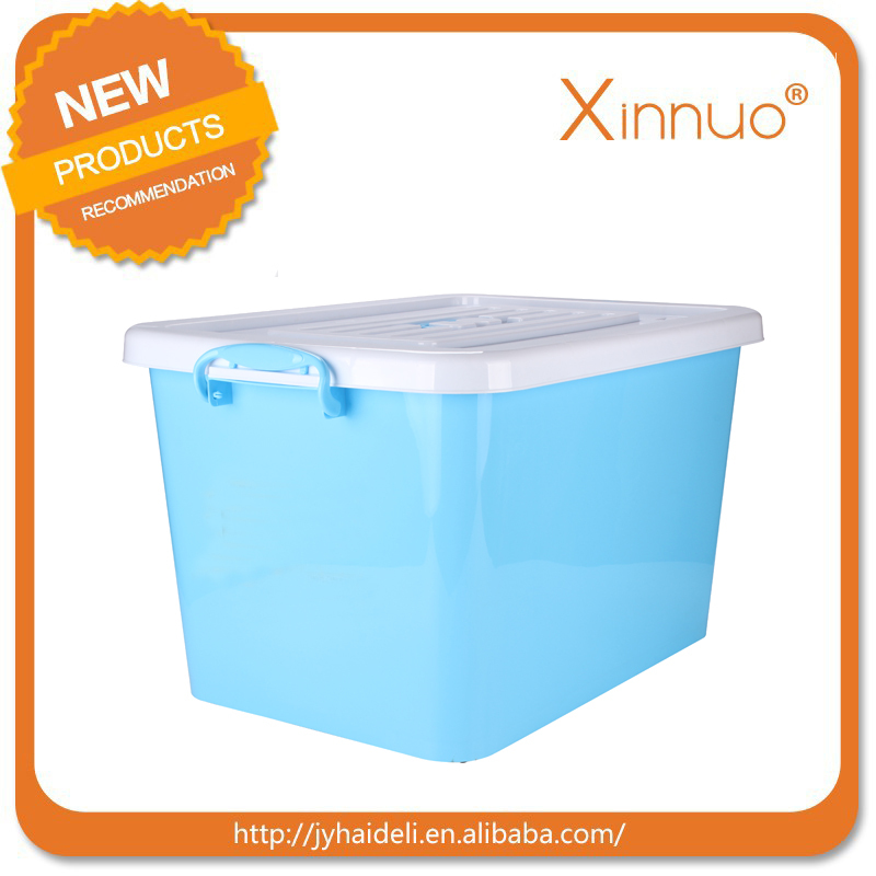 80L Multipurpose plastic sundries container Storage Box With Cover