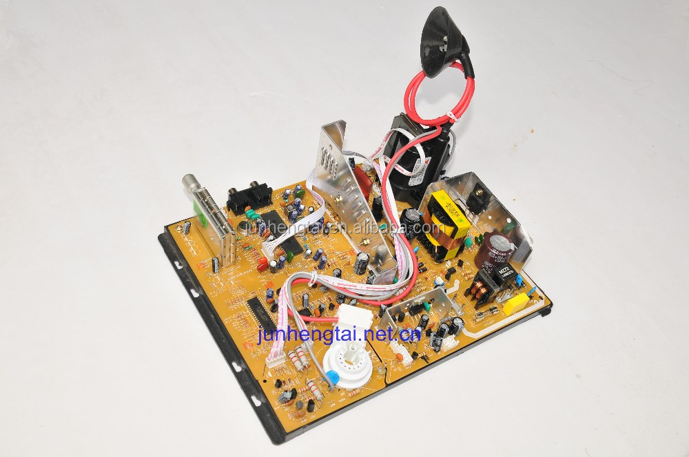"14-21""Hot selling new spare parts universal CRT Color TV motherboard price"