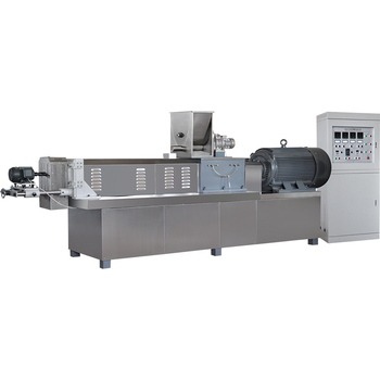Snacks food extrusion machine corn puffs production line