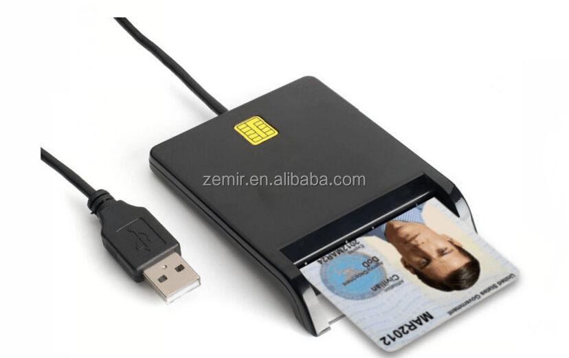 CVC Carte D'accès Commune Lecteur/ATM EMV de Crédit USB Lecteur de Carte à Puce